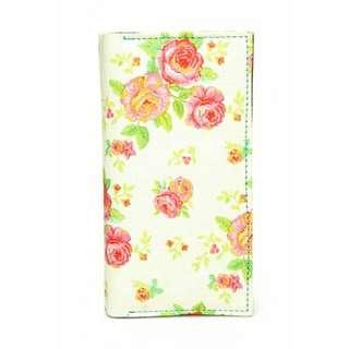 kasetpita Floral Peach Wallet
