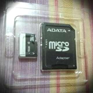 Micro SD 16Gb w/ FREE 2Gb