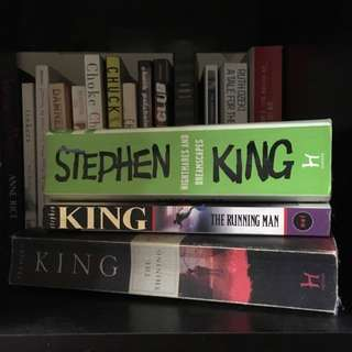 Stephen King Collection X3