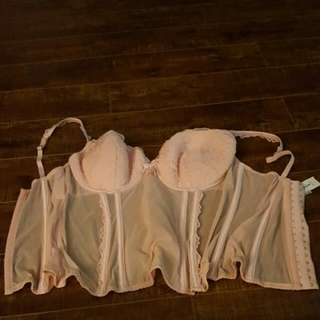 Peach Bustier Size XL. New With Tag