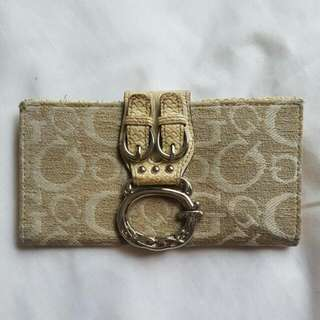 Guess Cream Wallet