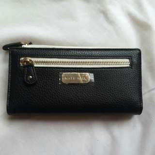 (pending) Kate Hill Black and White Wallet BNWT