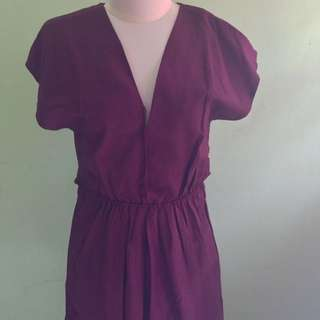 (NEW) Red Wine Dress