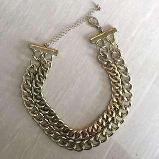 ZARA - Double Chain Necklace