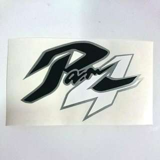 Die-cut Arai SZ-RAM4 Logo