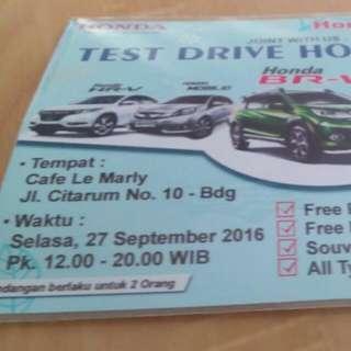 Honda Brv Showroom event