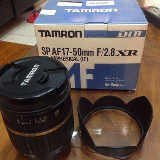 Tamron(Sony接環)AF 17-50mm F2.8 XR Di II(送Marumi 保護鏡)售6500(二手)