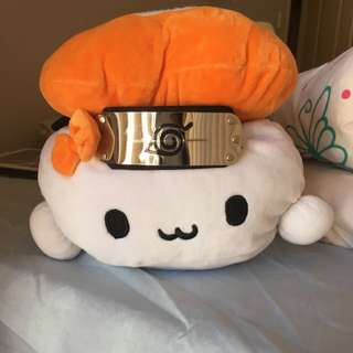Kawaii Sushi Plush w/ Naruto Headband