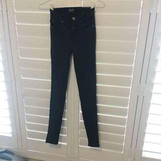 Khloe Super High Rise Jeans Sz 7