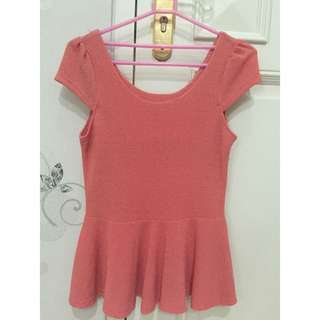 Atasan Top Pink
