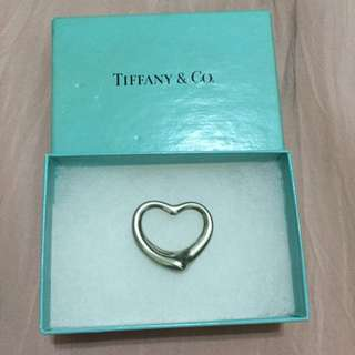 (保留中)Tiffany Open Heart 大款愛心墜