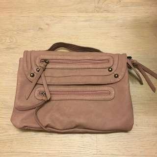 🚚 粉藕色手提包