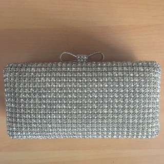 Forever New Clutch Sparkle Bag