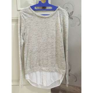 Sweater Light Grey / Abu