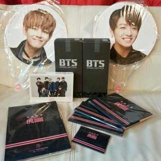 BTS Ready Stock Epilogue Goods