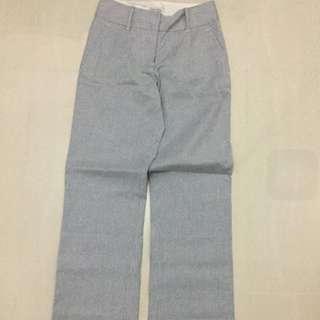 Witchery Grey White Striped Pants Size 6
