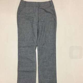 Veronika Maine Grey White Pants Size 6