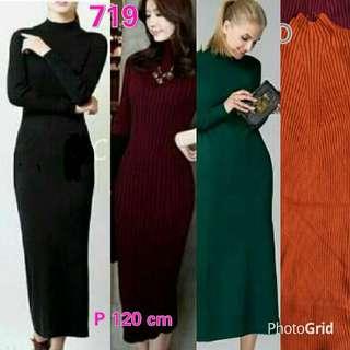 Long Dress Knit