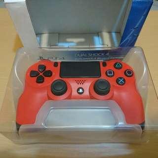 PS4 無線手把 (紅)