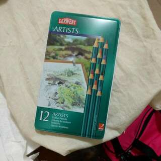 Derwent Artist's Coloured Pencils - 12 Pack