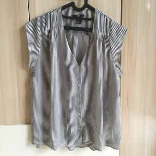 H&M Stripe Blouse