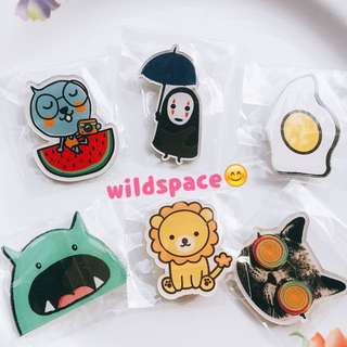 [Instock] Assorted Brooch [Free Mail]