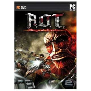 Attack on Titan Wings of Freedom PC Game || 3 DVD