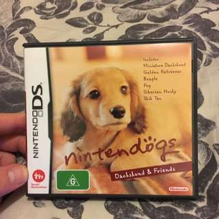 NintendoDogs Game For The DS