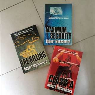 Robert Muchamore Books: The Killing, Maximum Security, Class A