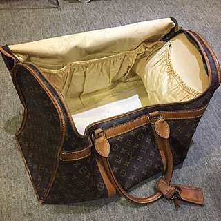 Louis Vuitton LV Vintage Sac Chien Big Duffle Bag