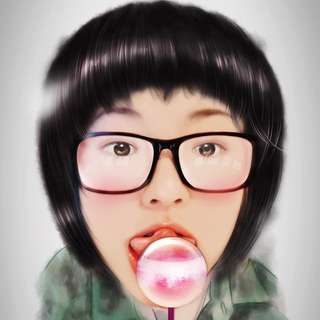 Photo to Digital Painting Service--Portraits