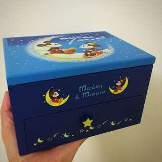 Micky Mouse 手飾盒連紙盒