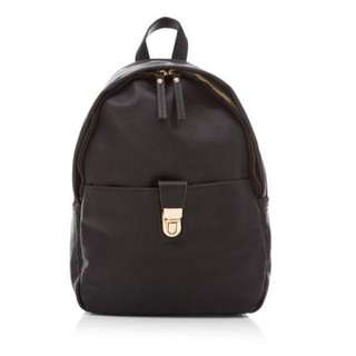 Leather Backpack New Look Original