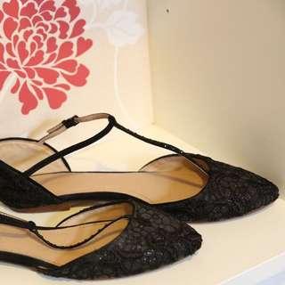 ZARA black flats Size: Eur 38