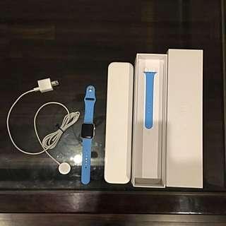 Apple Watch Series 1 Blue Sport Band