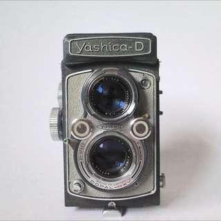 Yashica D 古董雙眼相機