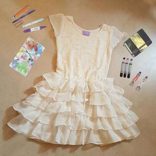 Purple Candy White Tutu Dress