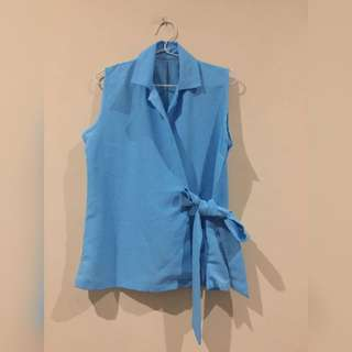 Blue Ribbon Top