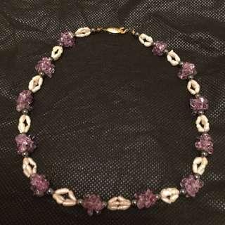 紫水晶頸鏈