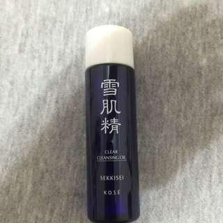 高絲 雪肌精淨透潔顏油 35ml