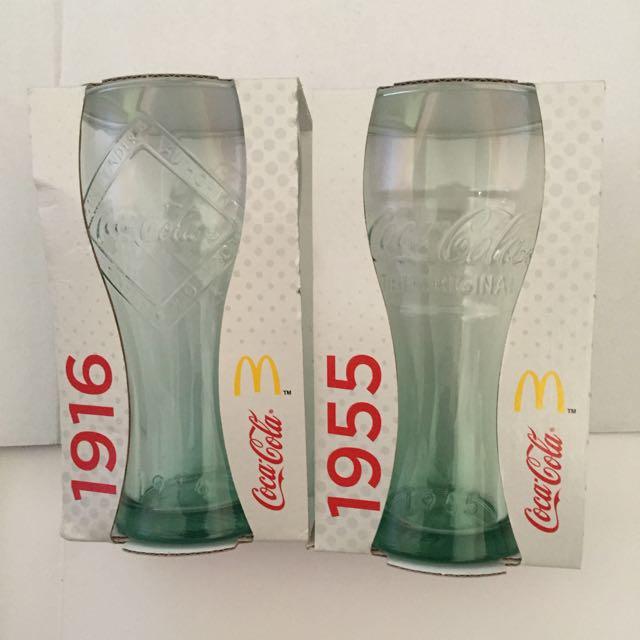 2 Coca Cola McDonald's Tumbler