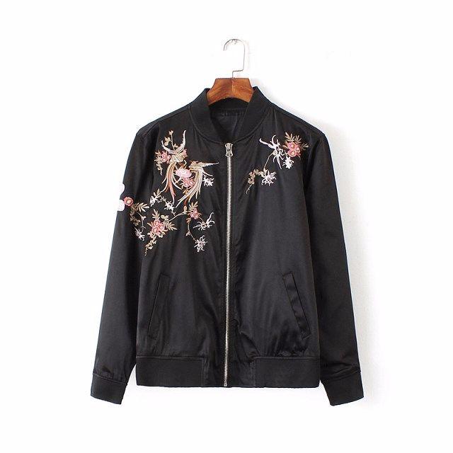 中國風🐉全新刺繡寬鬆棒球夾克外套