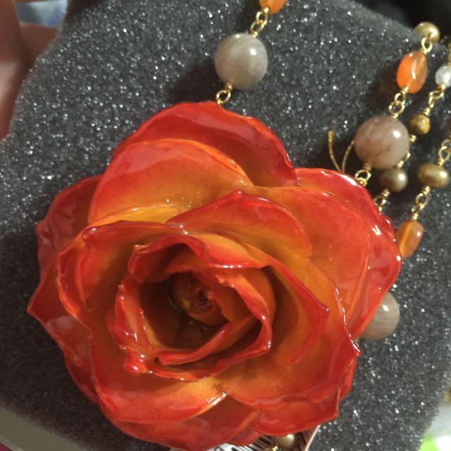 《全新》日本製 寶石飾品項鍊