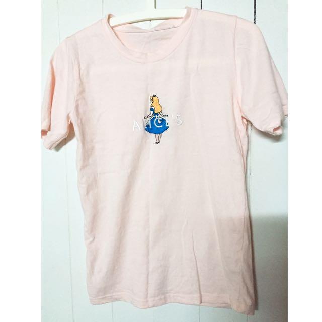 愛麗絲 粉色 上衣
