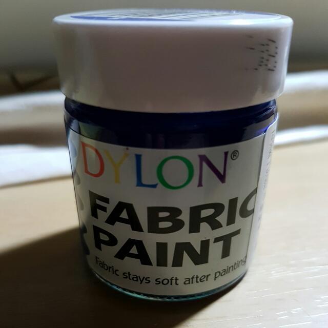 大龍染料 Dylon fabric paint 彩色樂 手繪 彩繪 衣服 顏料 局部補色 畫布 布料