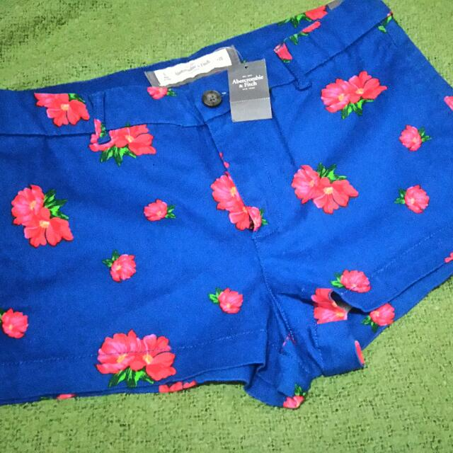 Abercrombie And Fitch Floral Shorts