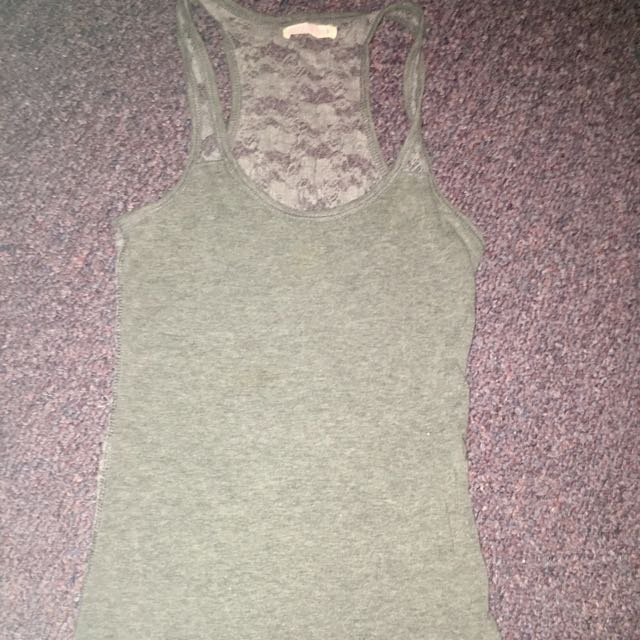 Ardene's S Racerback Tank Top With Lace