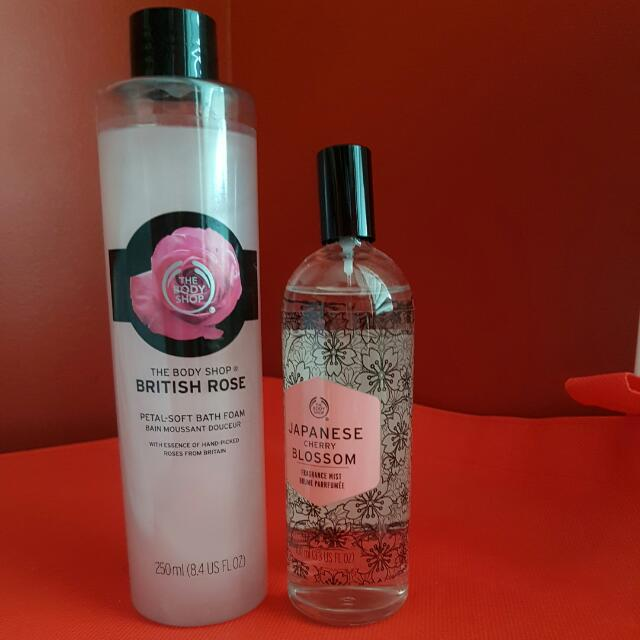 Bath Foam And Fragrance Mist