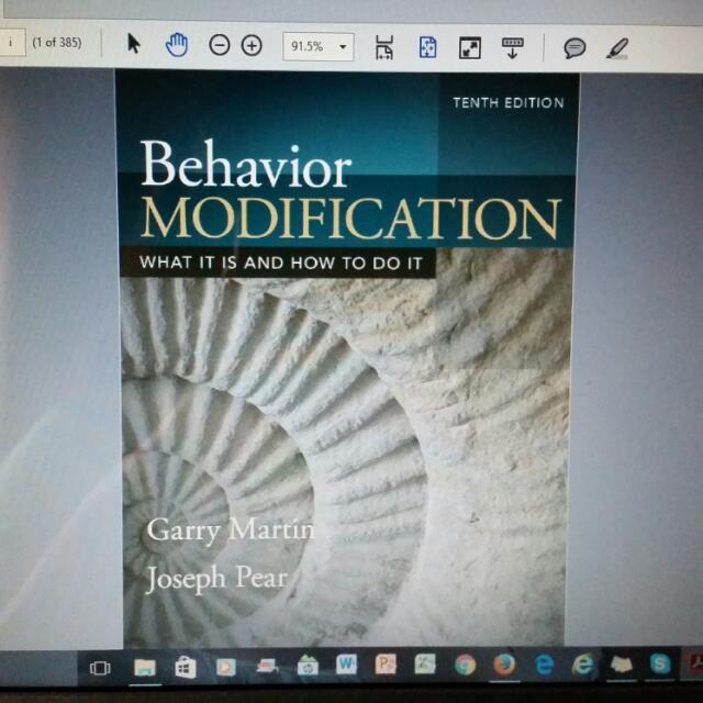Behavior Modification 10th Edition