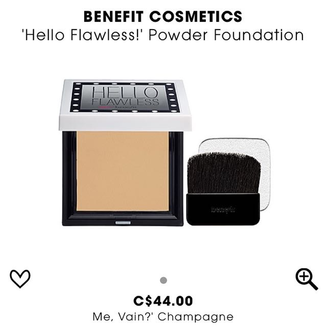 Benefits Hello Flawless Powder